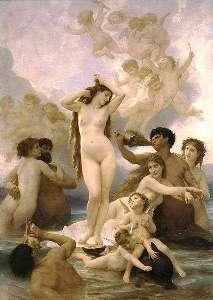 Adolphe-William Bouguereau, La naissance de Venus