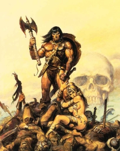 """yotambientengosuperpoderes,  """"Ilustración de Conan"""", CC BY-NC-SA 2.0"""