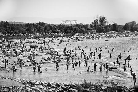 "Qbanez, ""Plaża na Berzdorfer See"", CC BY-SA 3.0"