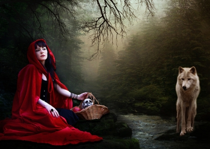 "Chiaralily, ""Red Riding Hood"", CC BY-NC 2.0"