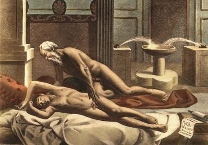 """Edouard-Henri Avril, """"De figuris veneris 8″"""