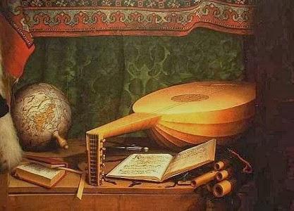 "Hans Holbein Młodszy, ""Ambasadorowie"" (fragment)"
