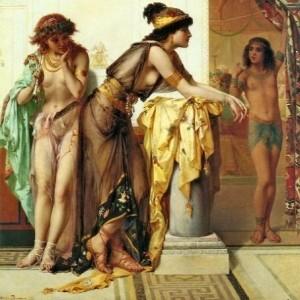 "Pierre Olivier Joseph Coomans, ""Tancerki"" (fragment)"