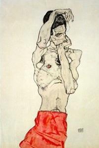 Egon Schiele - Autoportret